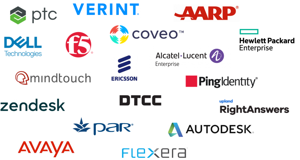 Collection of Benefactor and Sponsor member logos